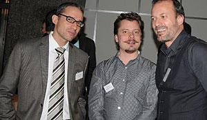 Walter Schärer, Chris Lüscher, Philippe Uhlmann