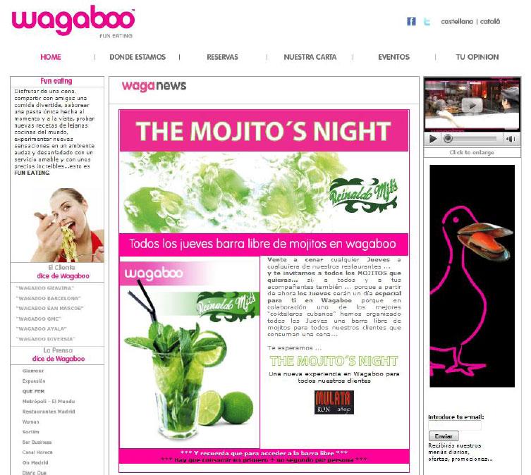 Homepage von Wagaboo