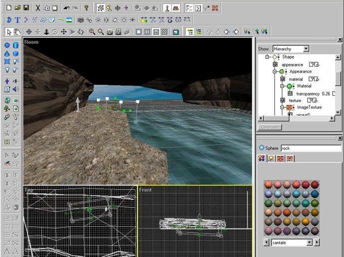 Cosmo World VRML 3D-Modeller Screenshot