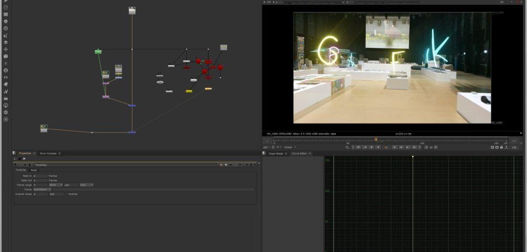 NukeX 3D-Modeller Screenshot
