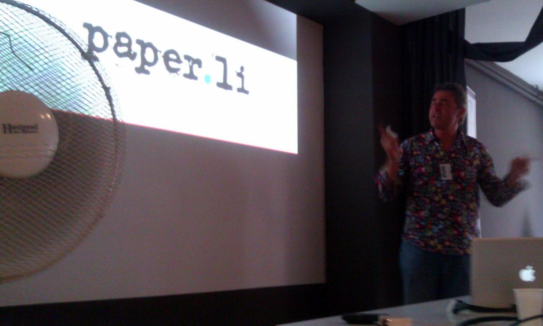 Paper.li SmallRivers Edouard-Lambelet Mobile-Monday-Geneva