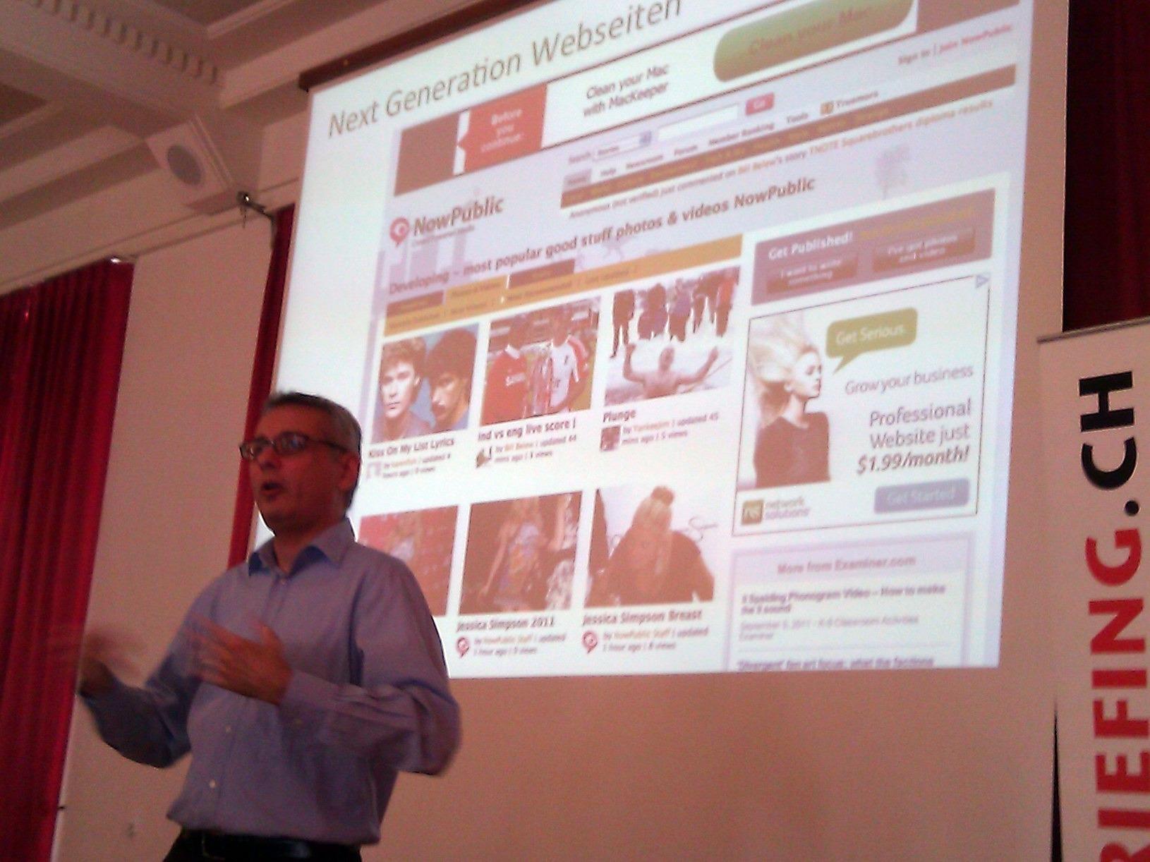 Next-Generation-Website-Beispiel Now-Public Prodosh-Banerjee von Anolim