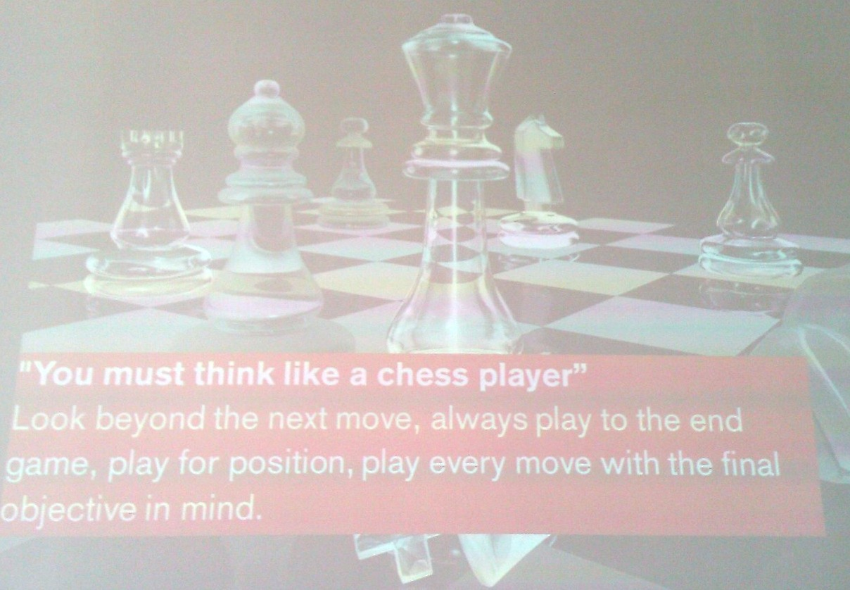 chess-player-strategic-thinking-shane-harrison LAS conference 2011 Zurich