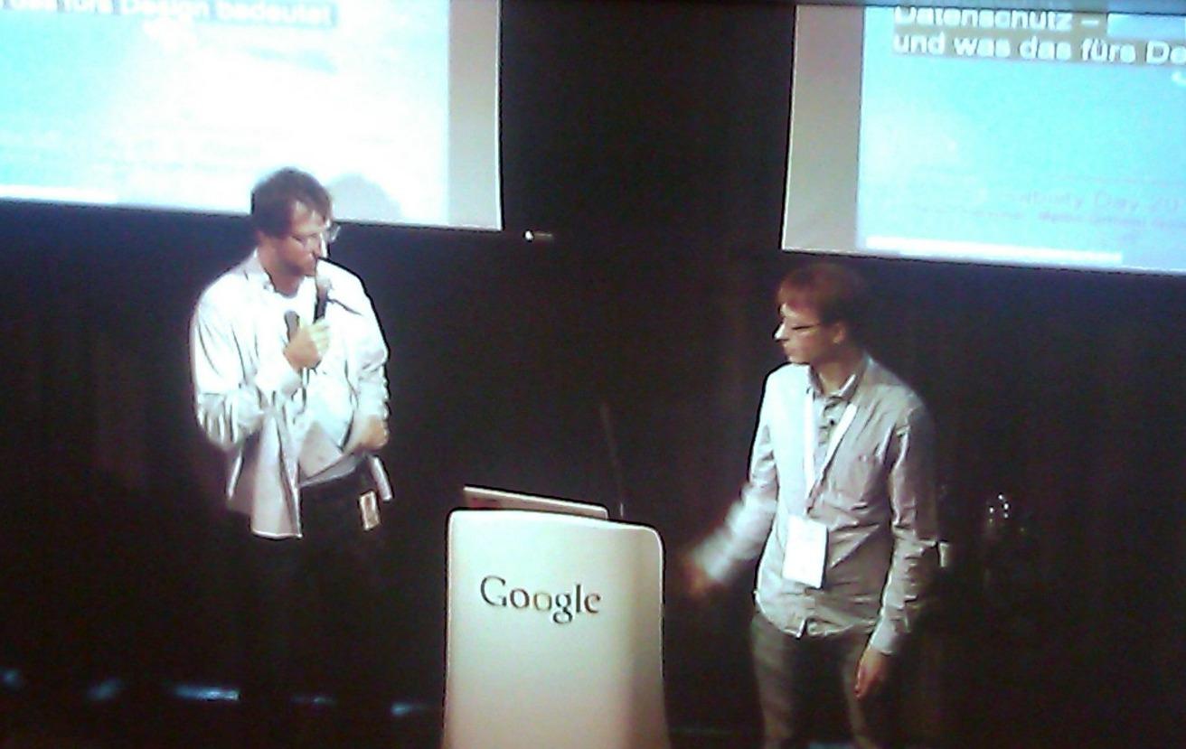 Mitch Hatcher, Martin Ortlieb, Senior User Experience Experts at Google