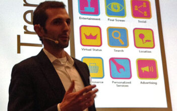 Urs Krucker präsentiert die Mobile Trends 2012 am Y&R Exchange-Vortrag