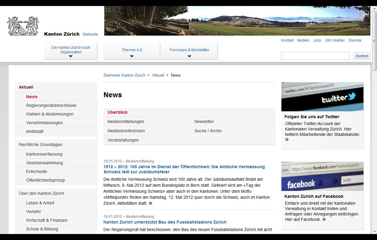 Usability-Zeix-News-Website-Kanton-Zuerich