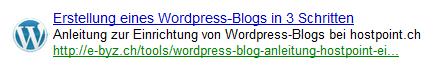Bevorzugte Suchergebnisse in Google's Custom Search Engine