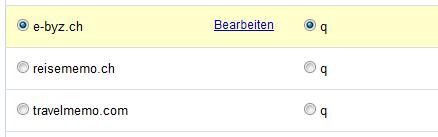 Google Analytics für Google Custom Search und den Suchparameter q