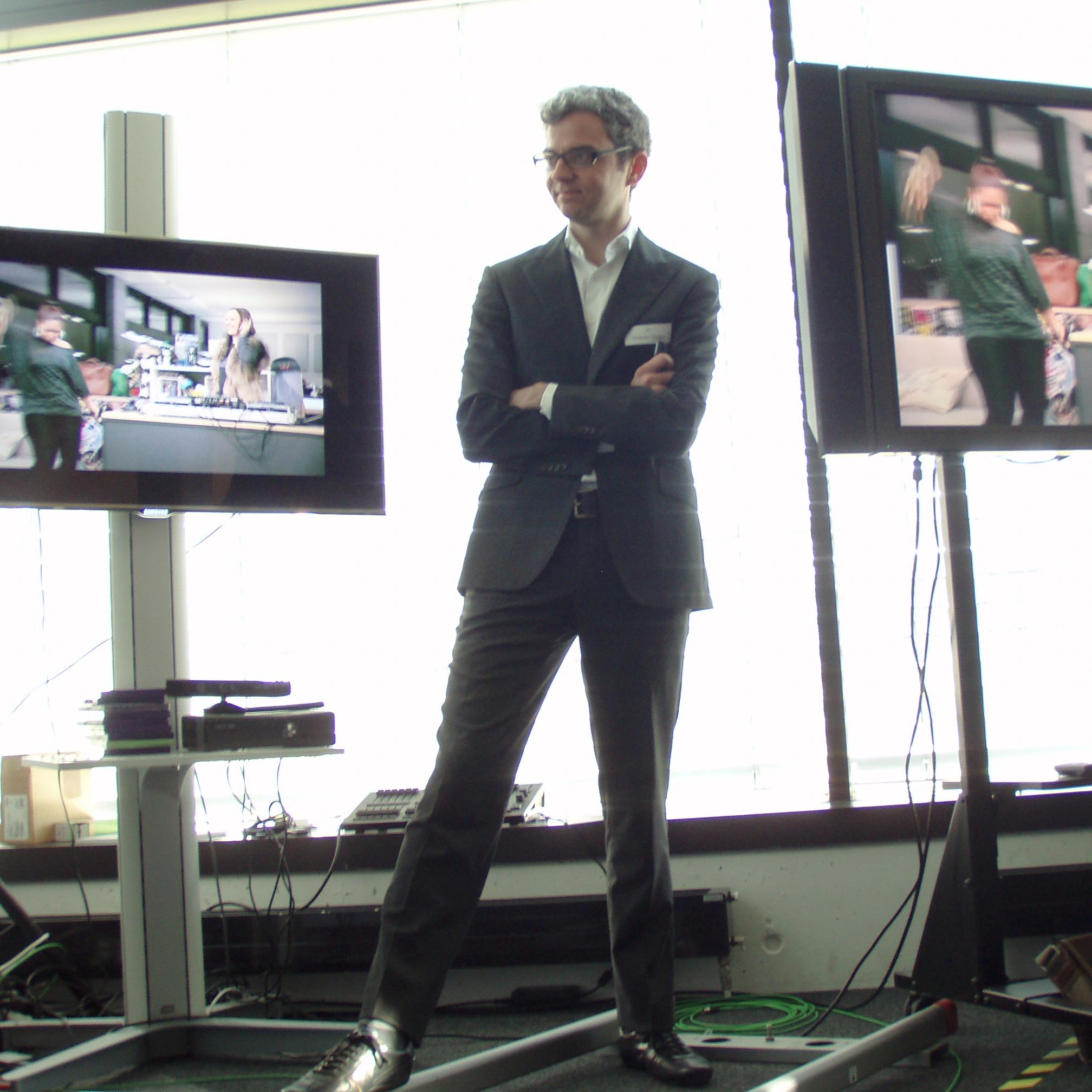 Alexander Mazzara, CEO von Joiz.TV