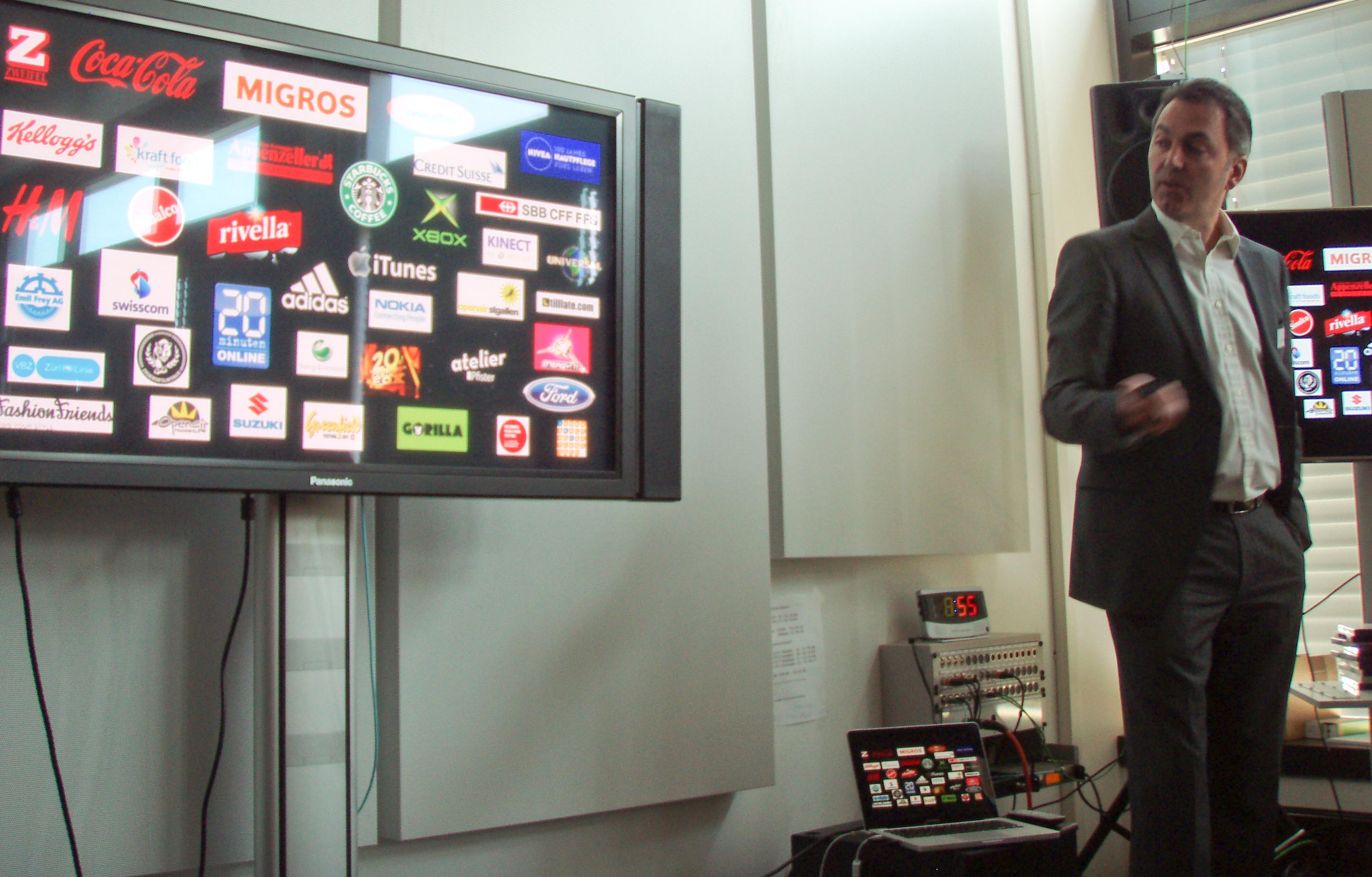 Joiz.TV Kundenliste gemäss Verkaufsleiter Nick Noth