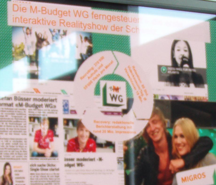 Impressionen der M-Bugdet WG Kampagne