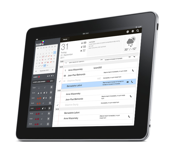 localina-tablet-interface