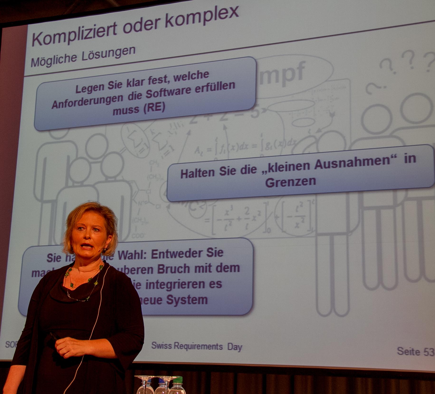 Chris Rupp: Loesungen bei zu komplizierten oder komplexen IT-Projekten (Vortrag-Slides)