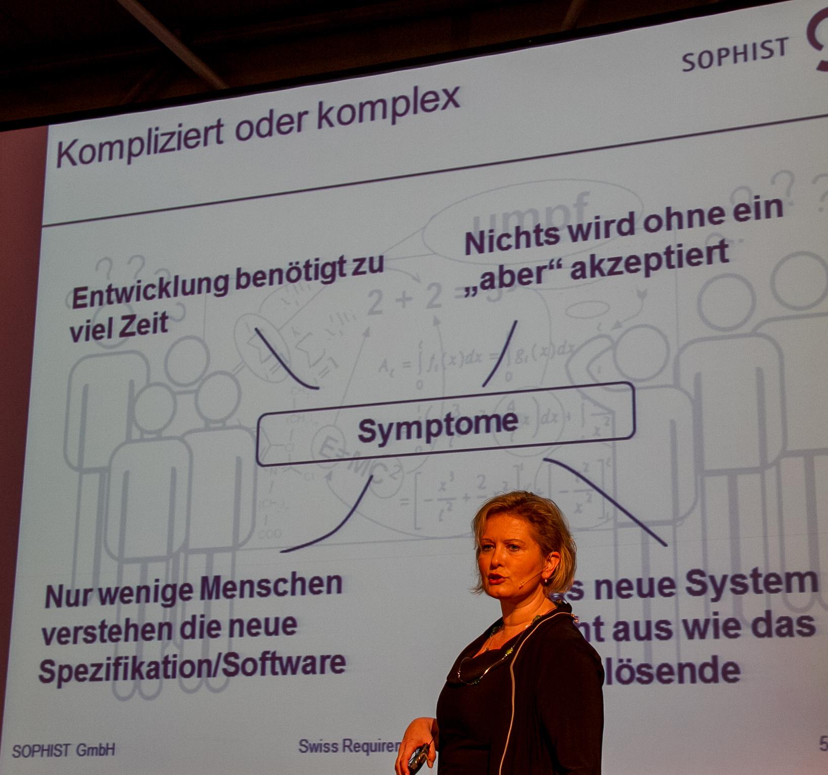 Chris Rupp: Symptome von zu komplizierten oder komplexen IT-Projekten (Vortrag-Slides)