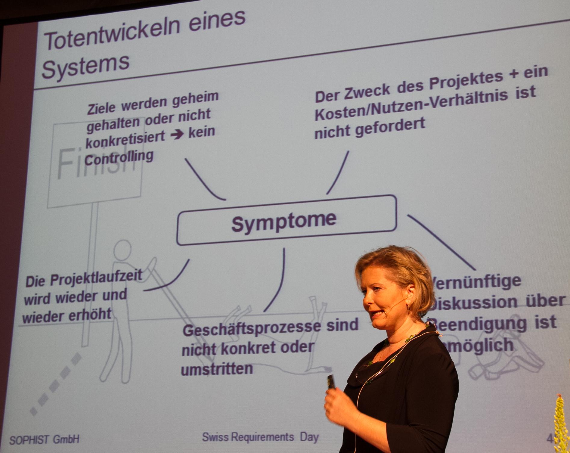 Chris Rupp: Totentwickeln eines Systems (Vortrag-Slides)