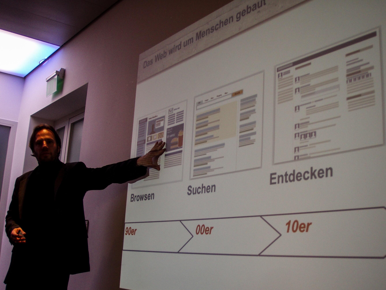 Manuel Nappo - Entwicklung des Webs über 3 Jahrzehnte