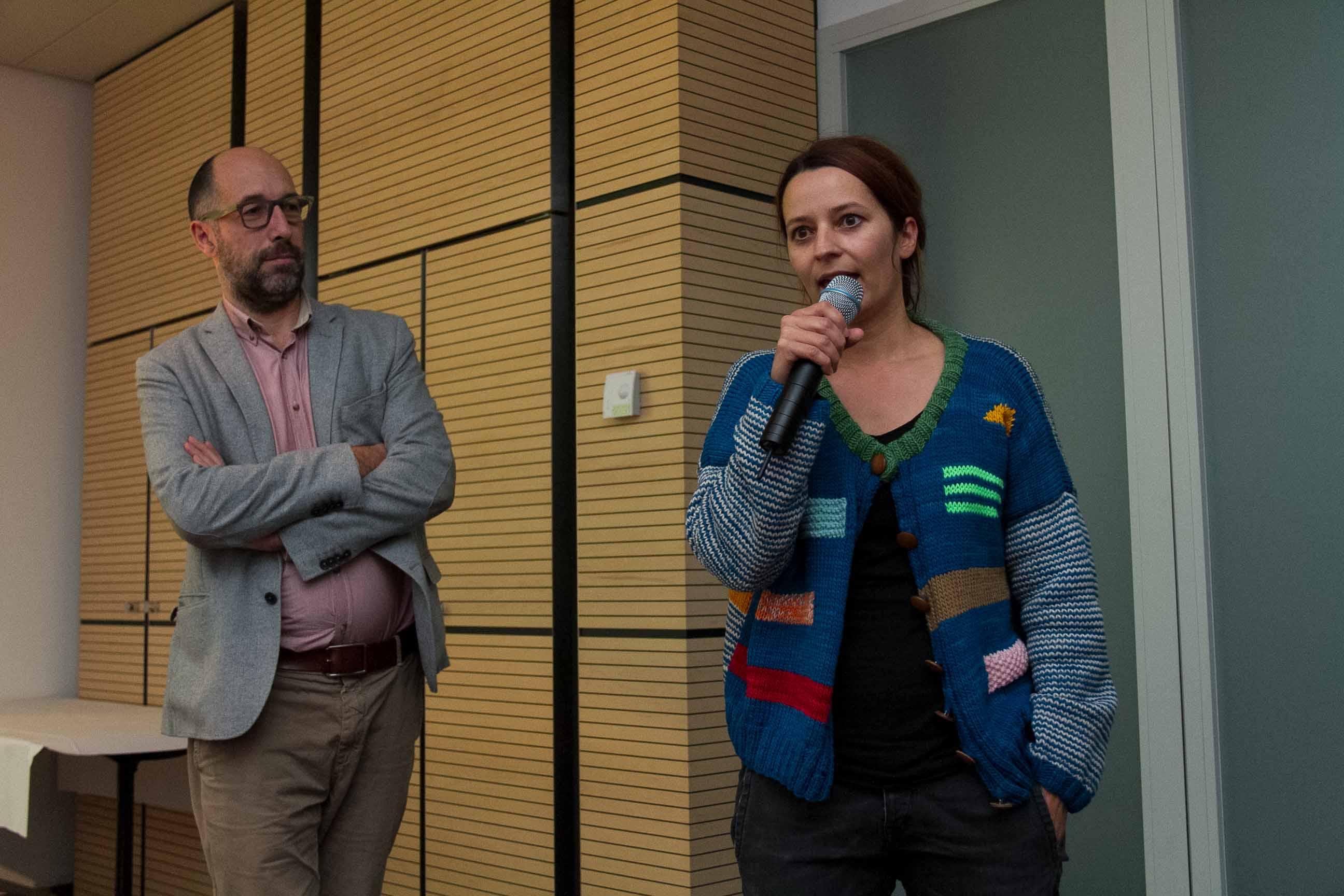Fragen zu wemakeit.ch am Web Monday bei Tamedia