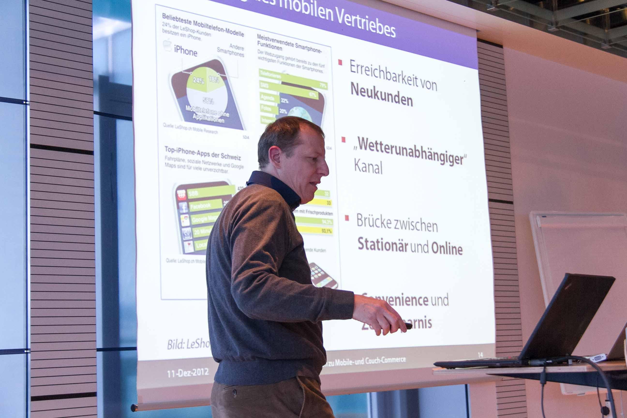 Bedeutung des mobilen Vertriebes in der Schweiz