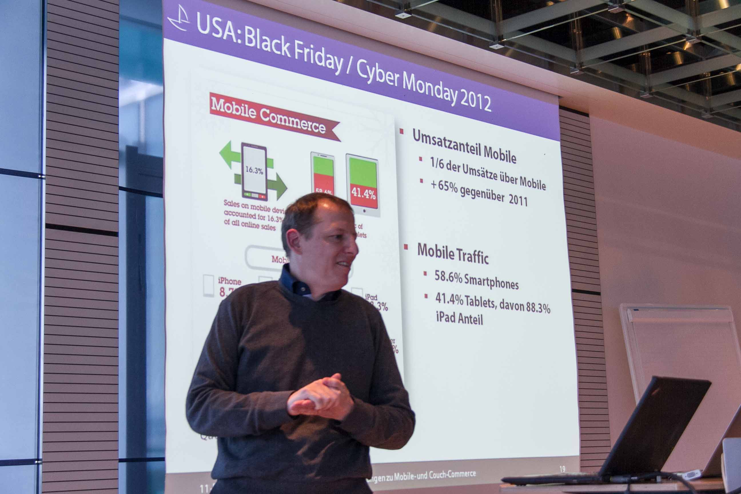 Mobile Commerce am Cyber Monday 2012