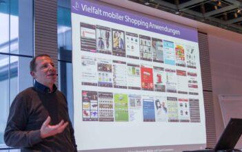 Vielfalt mobiler Shopping Anwendungen gemäss Thomas Lang von Carpathia