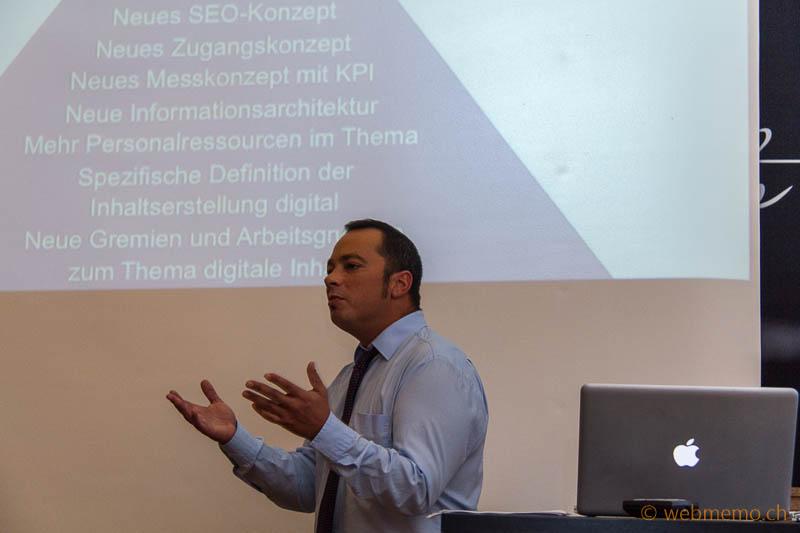 Rafael Azzati über die Anforderungen des Suva-Redesigns