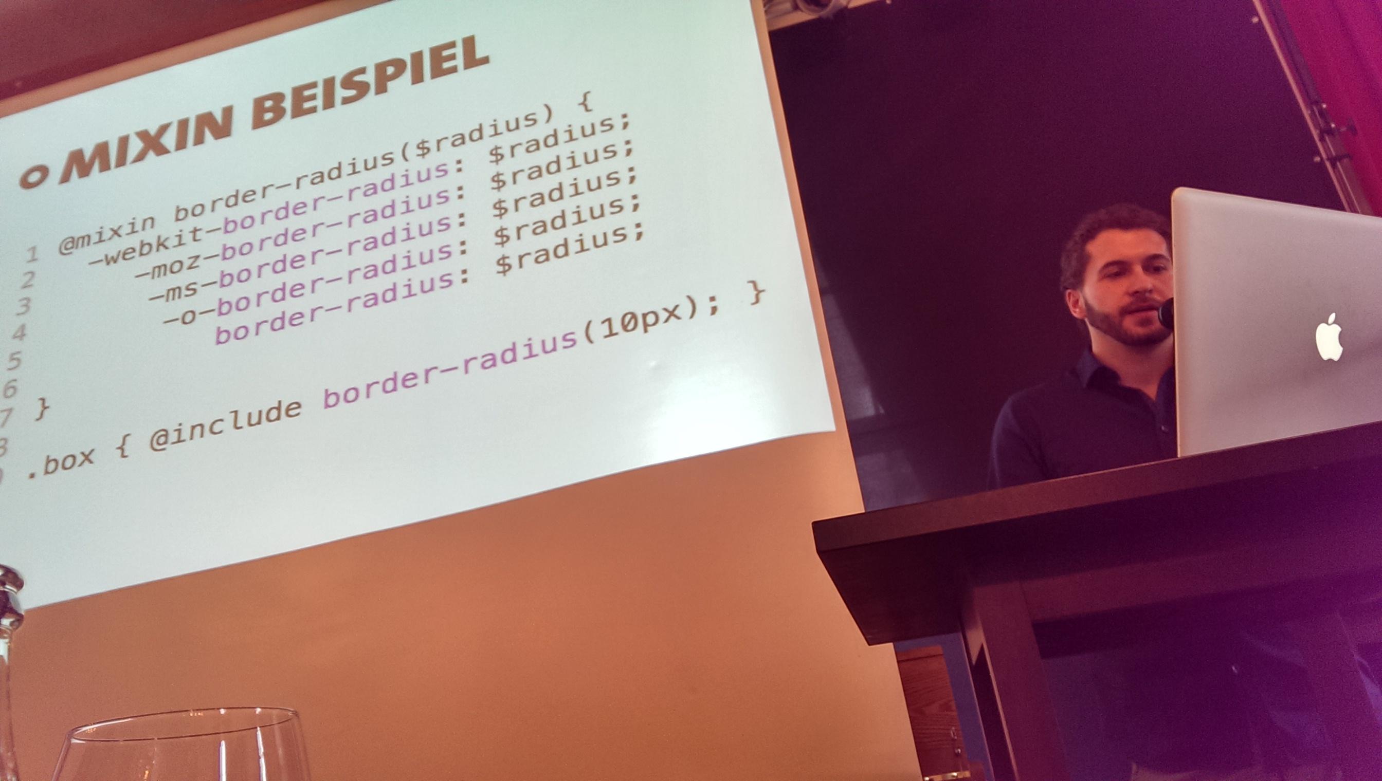 Effiziente CSS-Erstellung via Mixins gemäss Felipe Kaufmann