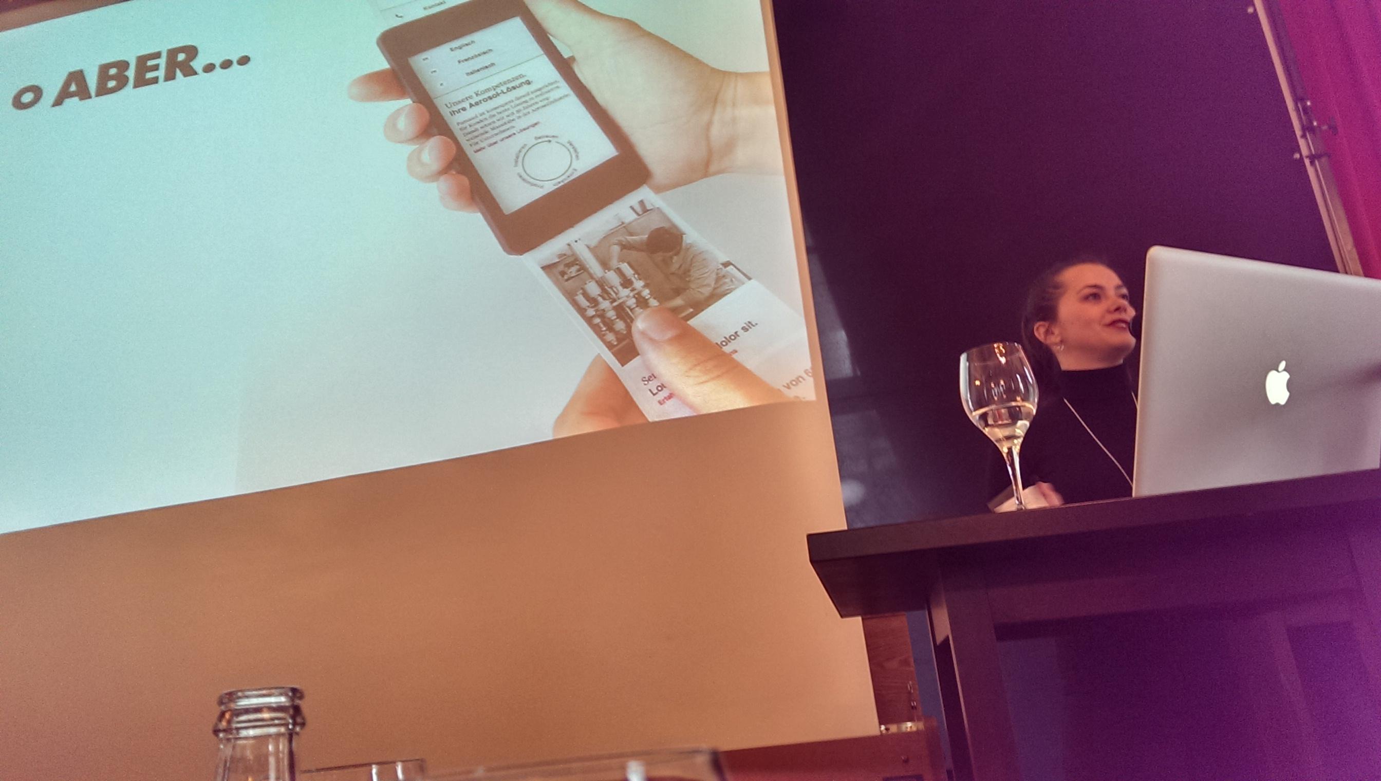 Melinda Lini über die Abnahme von Mobile-Prototypen