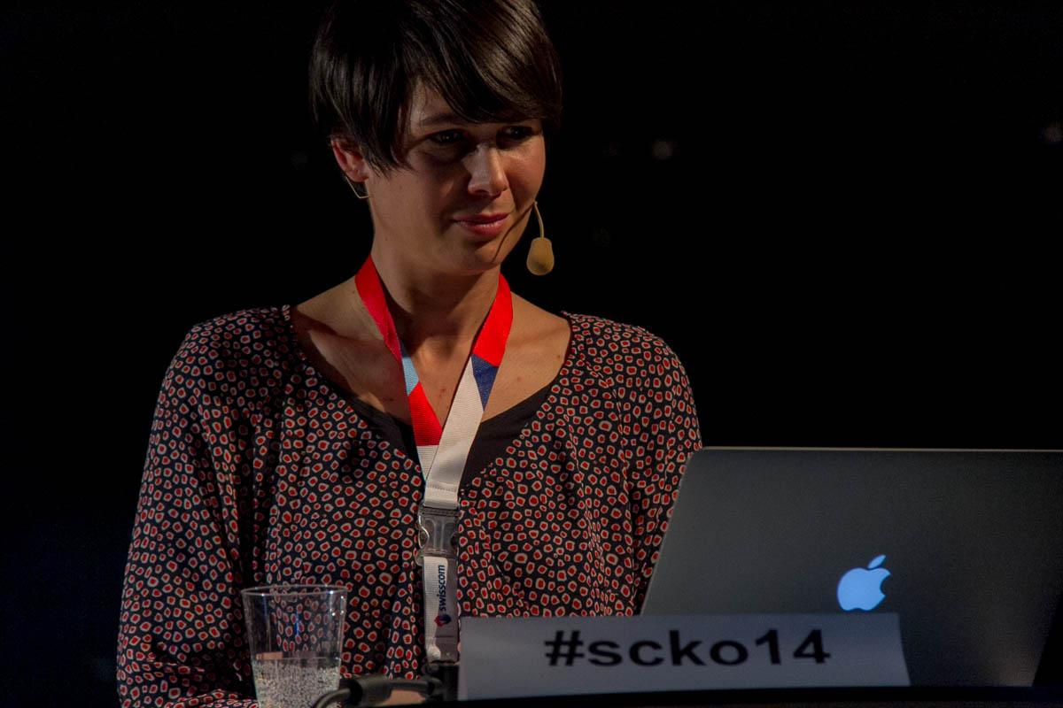 Danja Gerhardt und der #scko14 Hashtag
