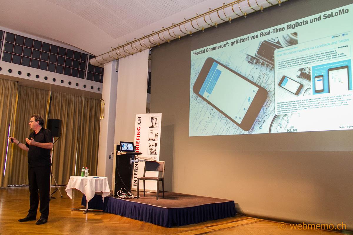 Social Commerce: Gerd Leonhard über den Business-Class Upgrade von KLM
