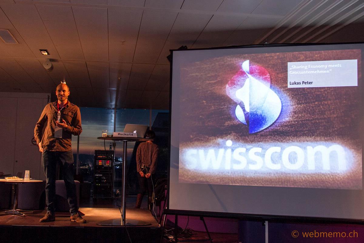 Lukas Peter erklärt das Interesse von Swisscom