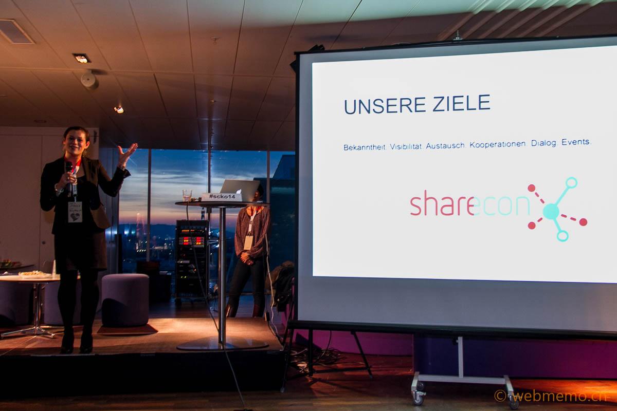 Stella Schieffer über die Ziele von Sharecon