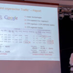 Report organischer vs. bezahlter Traffic