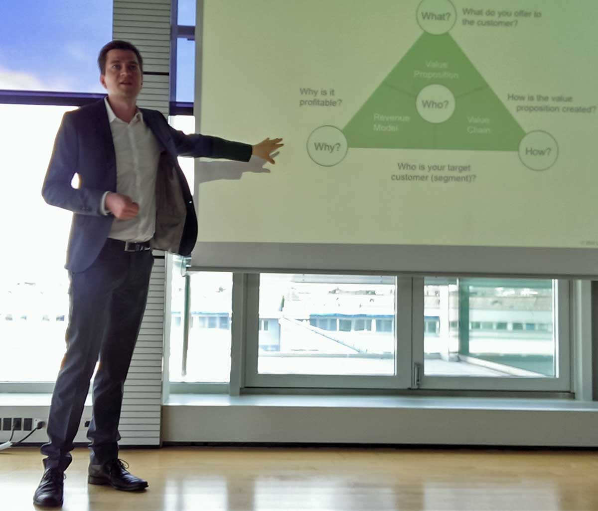 Felix Hofmann vom BMI Lab über Innovation