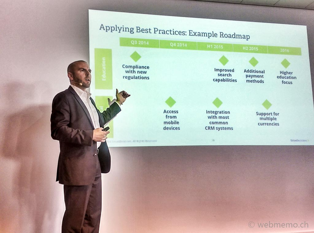 Best practice roadmap examples according to Jeff Lash