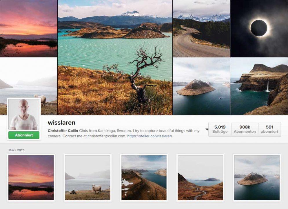 Instagram-Star Wisslaren