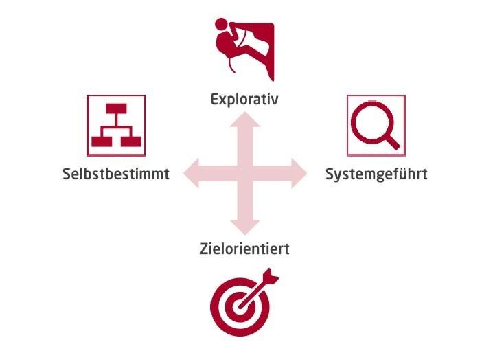 Strukturierte Navigation vs. Suchfunktion