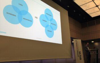 Patrick Price von BlueGlass referiert über Content Marketing