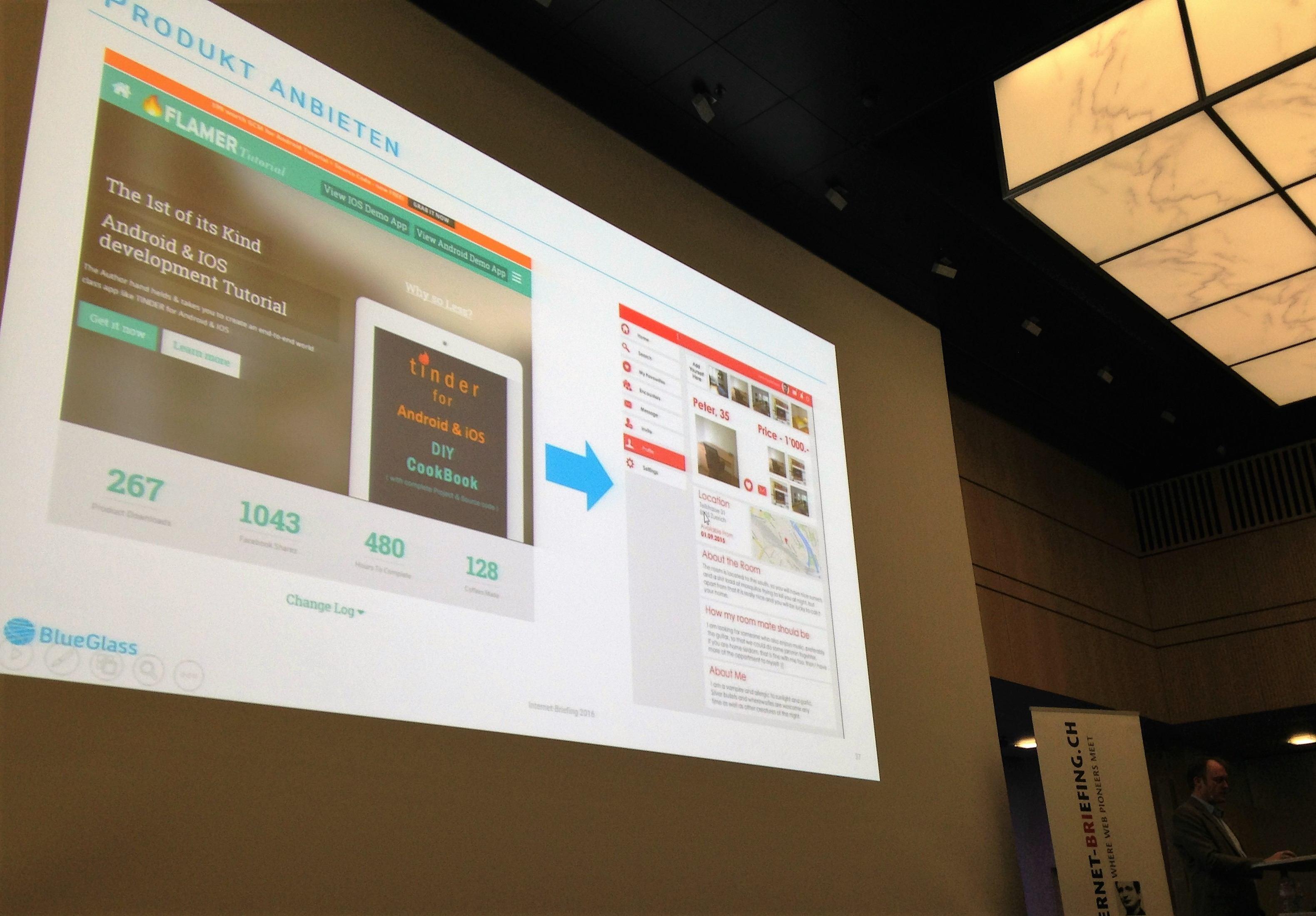 Whitelabel App mit Tinder-Funktionalität