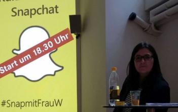 Snapchat-Kurs von Bettina Werren aka Frau_W