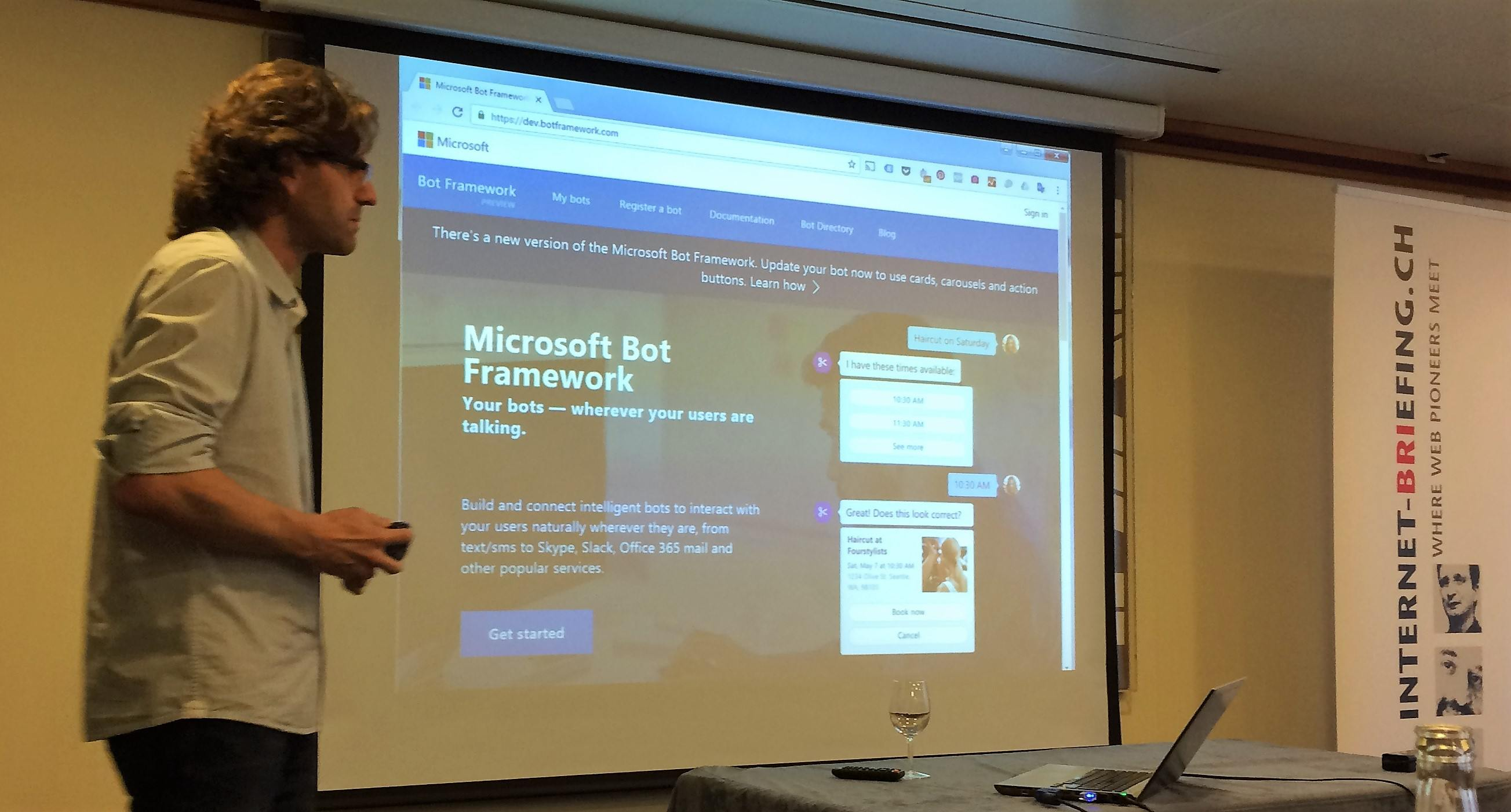 Microsoft Bot Framework Website