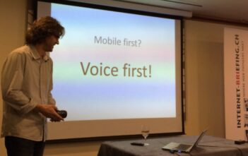 Daniel Niklaus: Voice First statt Mobile First