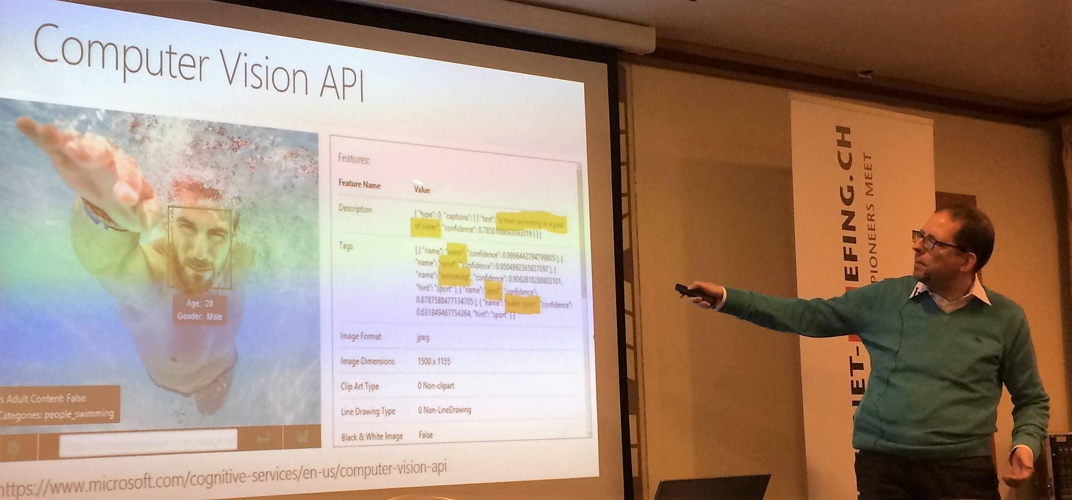 Bilderkennungs-API