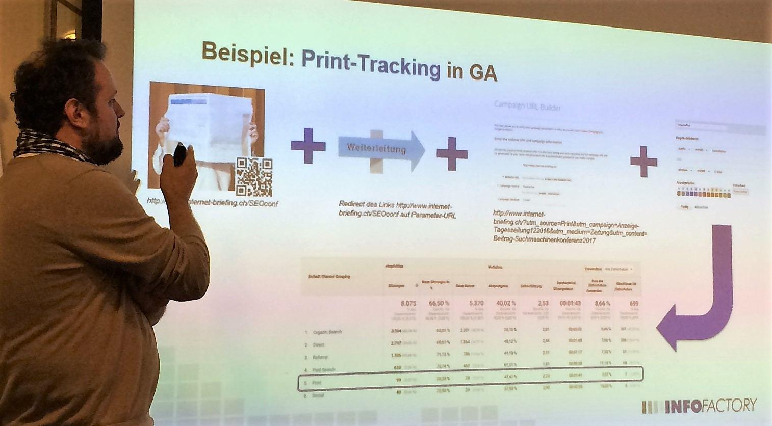 QR-Code in Google Analytics messen