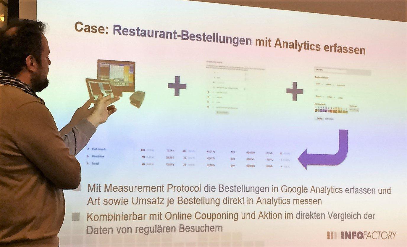 Restaurant-Bestellungen in Google Analytics tracken