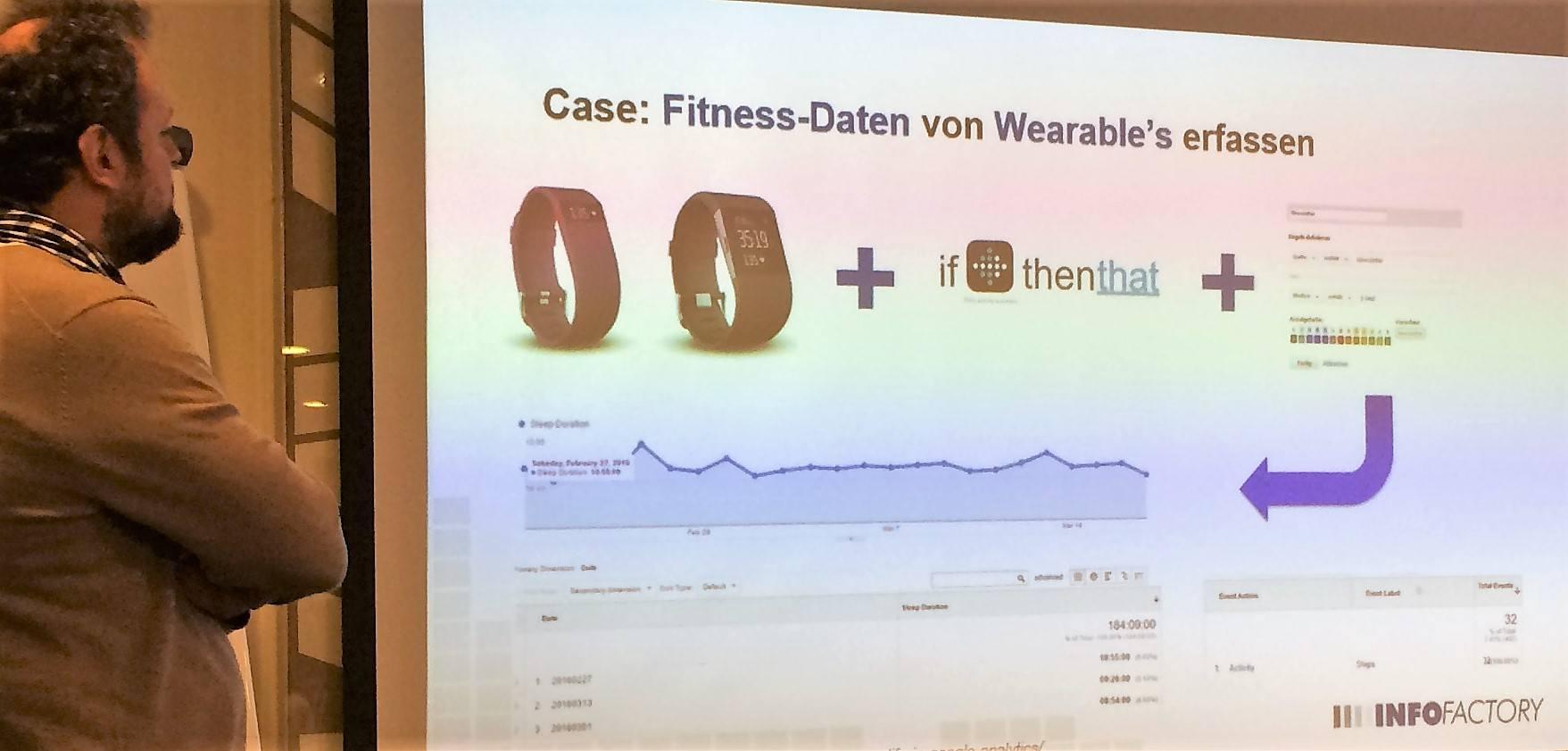 Fitbit Fitness-Werte in Google Analytics nachverfolgen