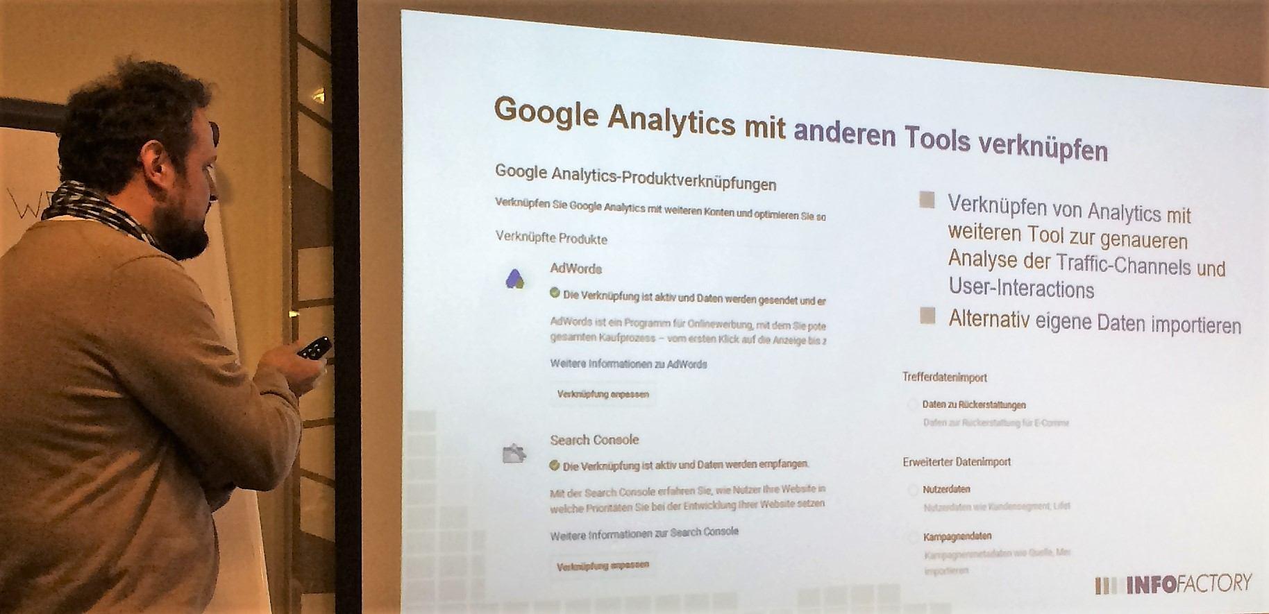 Google AdWords und Search Console verknüpfen