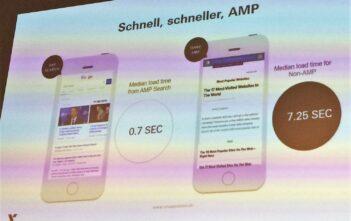 10x schnellere AMP Ladezeiten von mobilen Webseiten