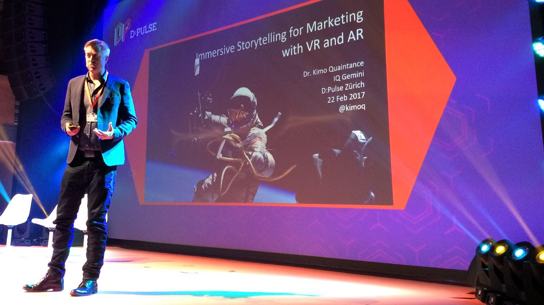 Dr. Kimo Quaintance on VR and AR applications