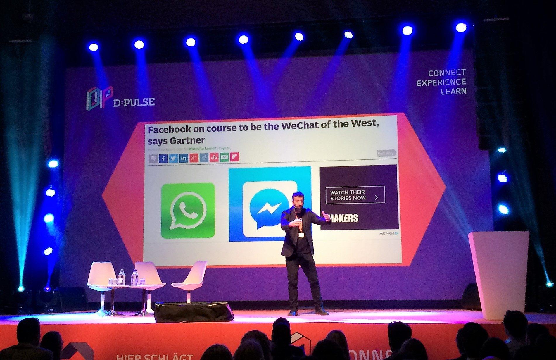Will McInnes on chat apps like Messenger