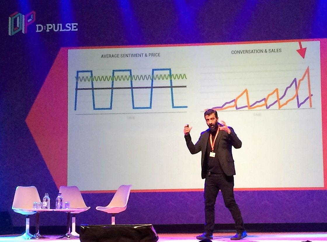 Will McInnes at dpulse conference Zurich